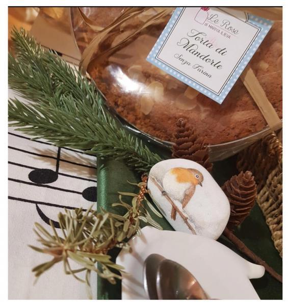 Torta Mandorla Senza burro e Farina - 100% Salute